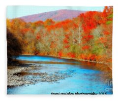 Coloring The Kittatinny Fleece Blanket