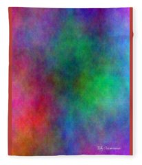 Colors Fleece Blanket