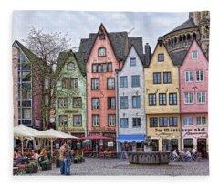 Colors Of Germany Fleece Blanket