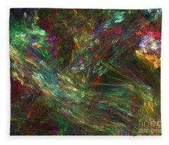 Colors Of Light Fleece Blanket