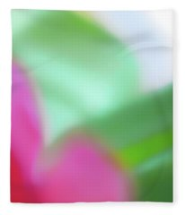 Colors Of Spring Abstract No 2 Fleece Blanket