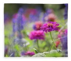 Colors Of Summer Fleece Blanket