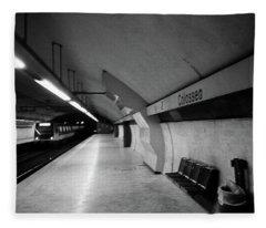 Colosseo Station Fleece Blanket