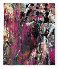 Colour Fantasy Fleece Blanket