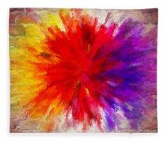 Colour To Lift Your Soul Fleece Blanket