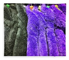 Colourful Fleece Tops Fleece Blanket