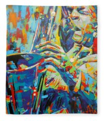 Coltrane Fleece Blanket