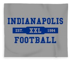 Colts Retro Shirt Fleece Blanket