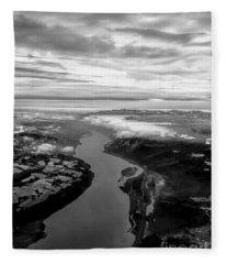 Columbia River Gorge Fleece Blanket