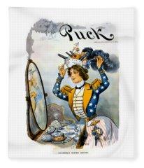 Columbia S Easter Bonnet - Vintage 1901 Fleece Blanket