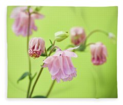 Columbine Fleece Blanket