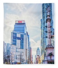 Columbus Circle Fleece Blanket