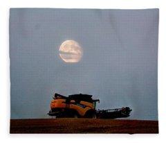 Combine Moon Fleece Blanket
