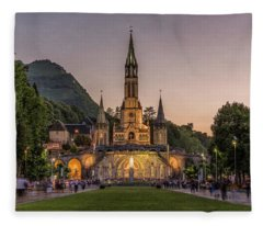 Come In Procession Fleece Blanket