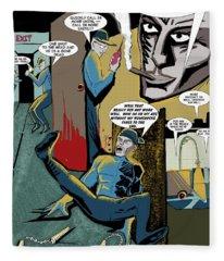 Comic Page1 Fleece Blanket