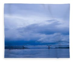 Coming Storm Fleece Blanket