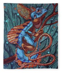 Common Basilisk Fleece Blanket