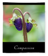 Compassion 1 Fleece Blanket