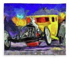 Competition Coupe Van Gogh Fleece Blanket