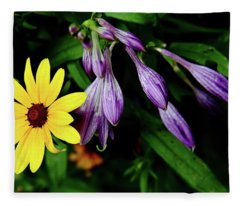 Complementary Colors Fleece Blanket