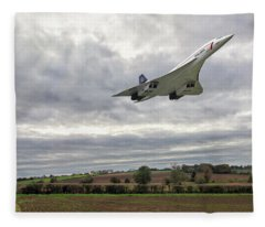 Concorde - High Speed Pass Fleece Blanket