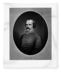 Confederate General Albert Sidney Johnston Fleece Blanket