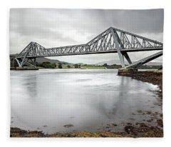 Connel Bridge Fleece Blanket