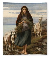 Connemara Girl Fleece Blanket