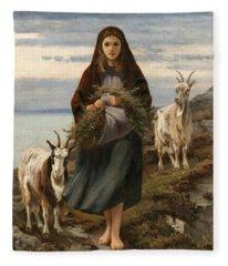 Connemara Girl Fleece Blanket