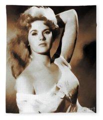 Connie Stevens, Movie Legends Fleece Blanket