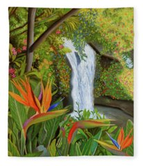 Conquest Of Paradise Fleece Blanket