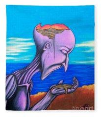Conscious Thought Fleece Blanket