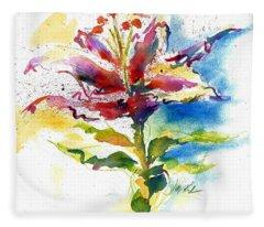 Consider The Lily Fleece Blanket