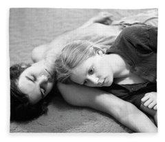 Contemplation, Part 2, 1973 Fleece Blanket