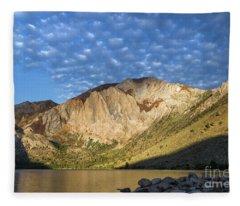 Convict Lake  Fleece Blanket