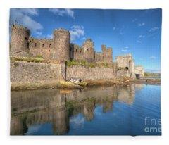 Conwy Castle Fleece Blanket