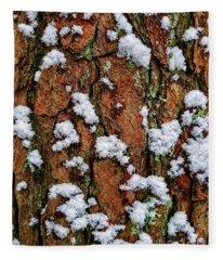 Cool Nature Tapestry Fleece Blanket