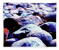 Cool Rocks- Fleece Blanket