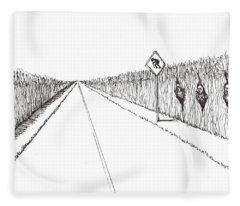 Coots Crossing Fleece Blanket