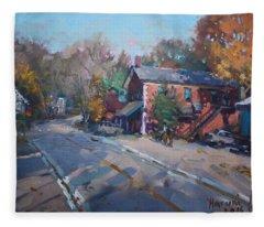 Copper Kettle Pub In Glen Williams On Fleece Blanket