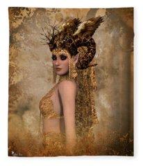 Copper Queen Fleece Blanket