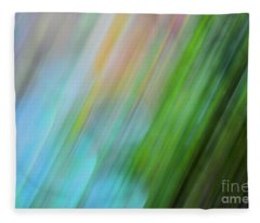 Copper Rainbow Fleece Blanket
