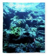 Coral Art 4 Fleece Blanket