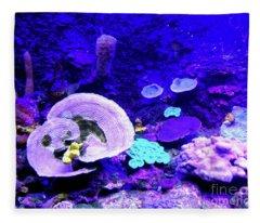 Coral Art Fleece Blanket