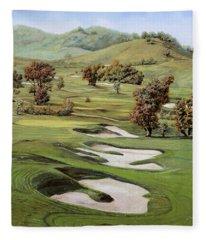 Cordevalle Golf Course Fleece Blanket