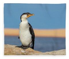 Cormorant Fleece Blanket