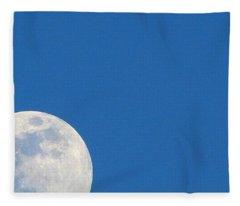 Cornering The Moon Fleece Blanket