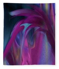 Cornflower Rising Fleece Blanket