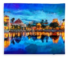 Coronado Springs Resort Fleece Blanket