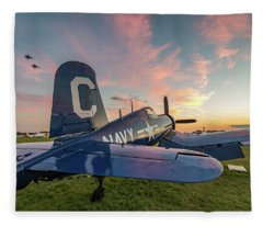 Corsair Sunset Fleece Blanket